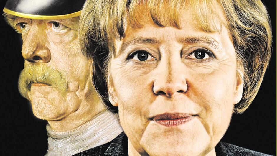 Merkel et Bismarck
