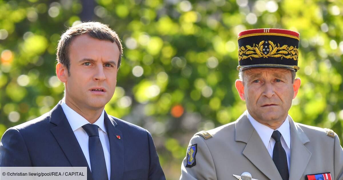 Emmanuel Macron: «L'armée m'a tuer…!»